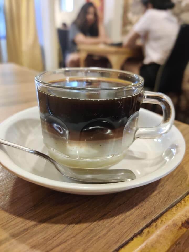 vietnamese coffee at yeti and the monk khadki pune